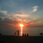 Sunset on the Long Island Sound